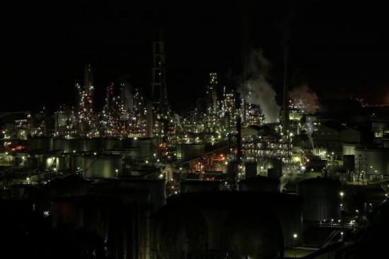 露出-2の夜景写真